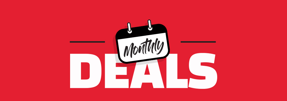 Nutrition Warehouse Monthly Deals