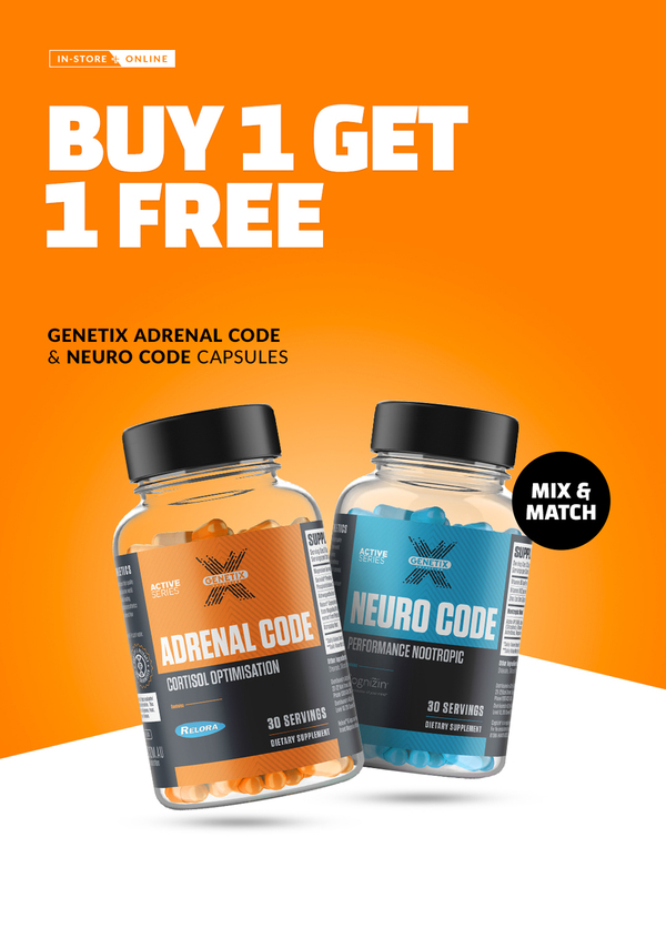 Buy 1 Get 1 Free Adrenal or Neuro Code (Mix & Match)